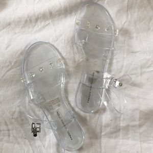 French Connection Jelly Sandals